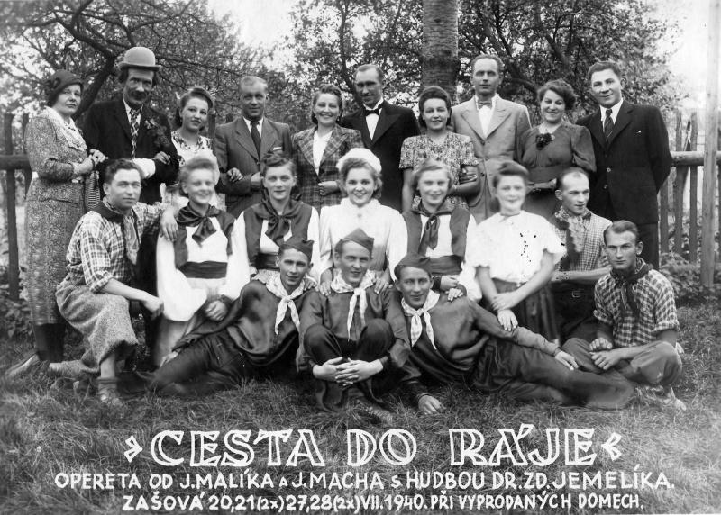 Cesta do ráje - rok 1940