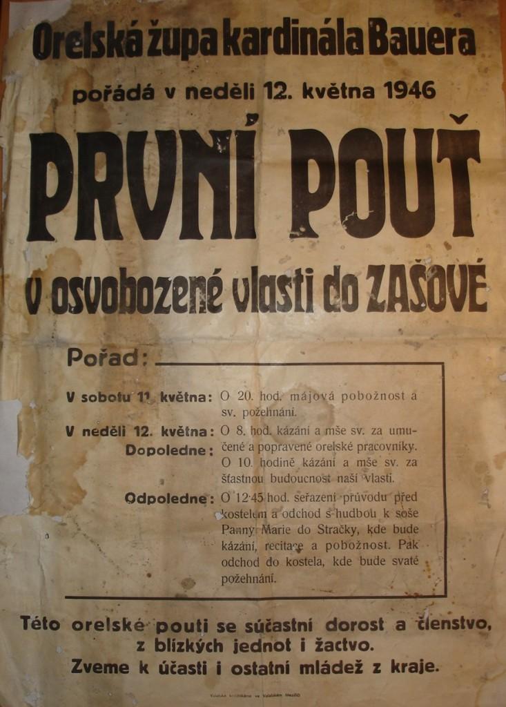 pouť 1946