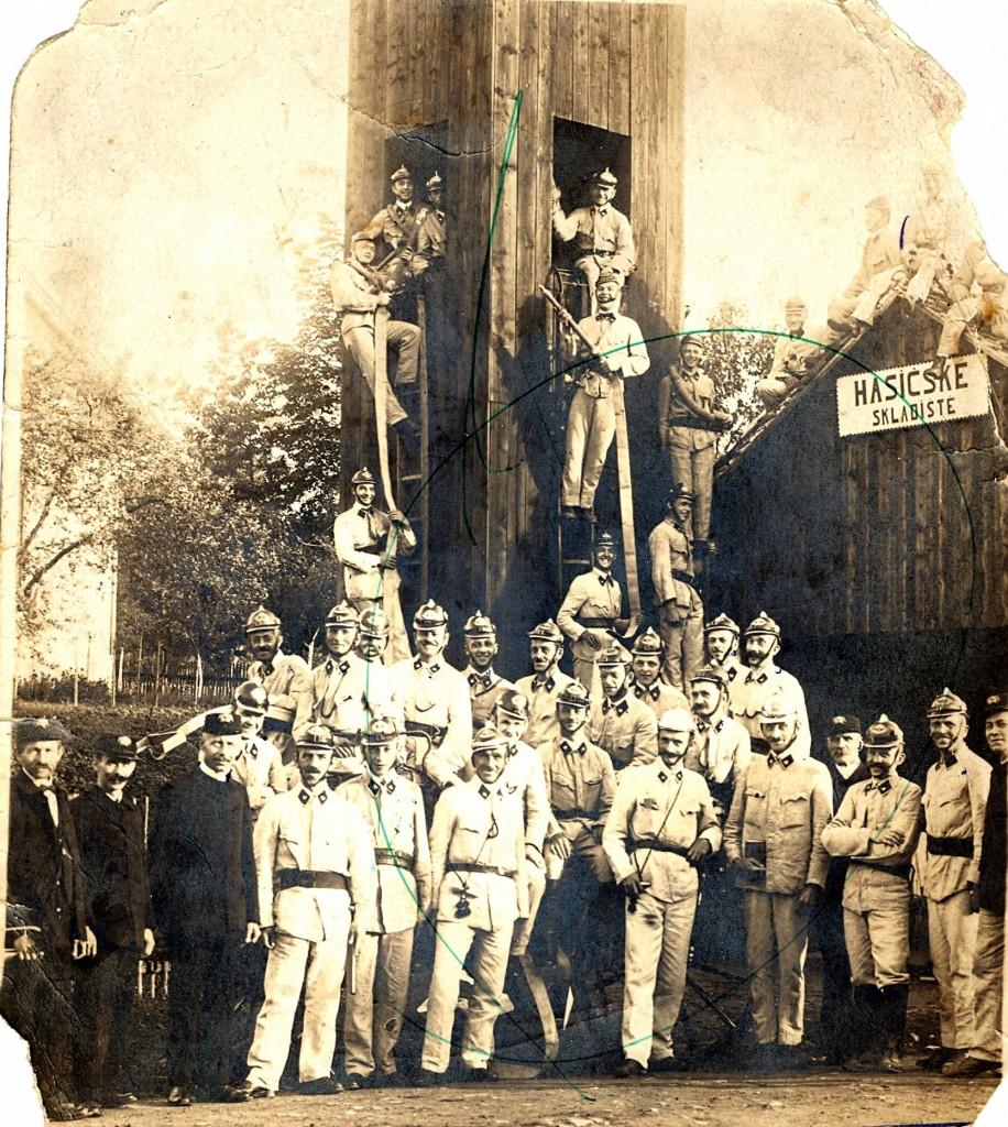 03 volné fotky Hasiči Pospěch sbor rok 1925