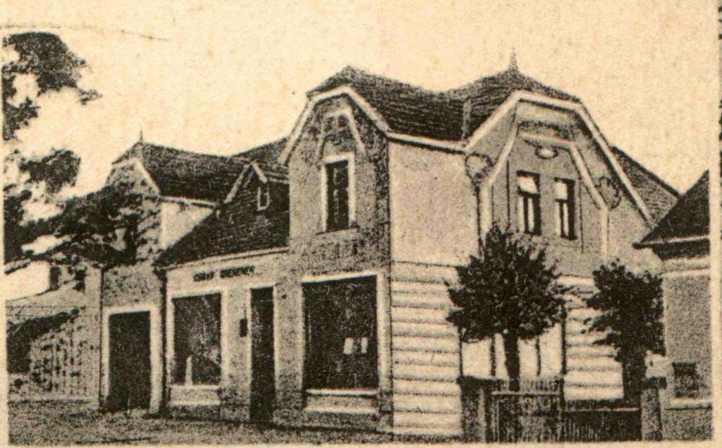 1924 Grencnerův obchod