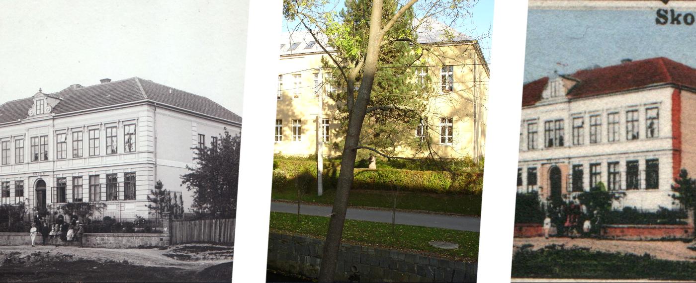 Dříve a nyní – stará škola