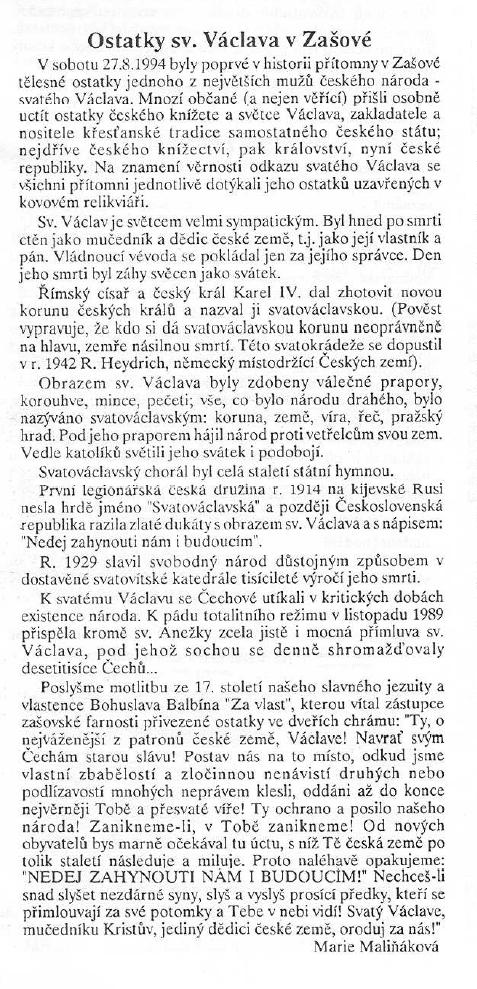 sv Vaclav