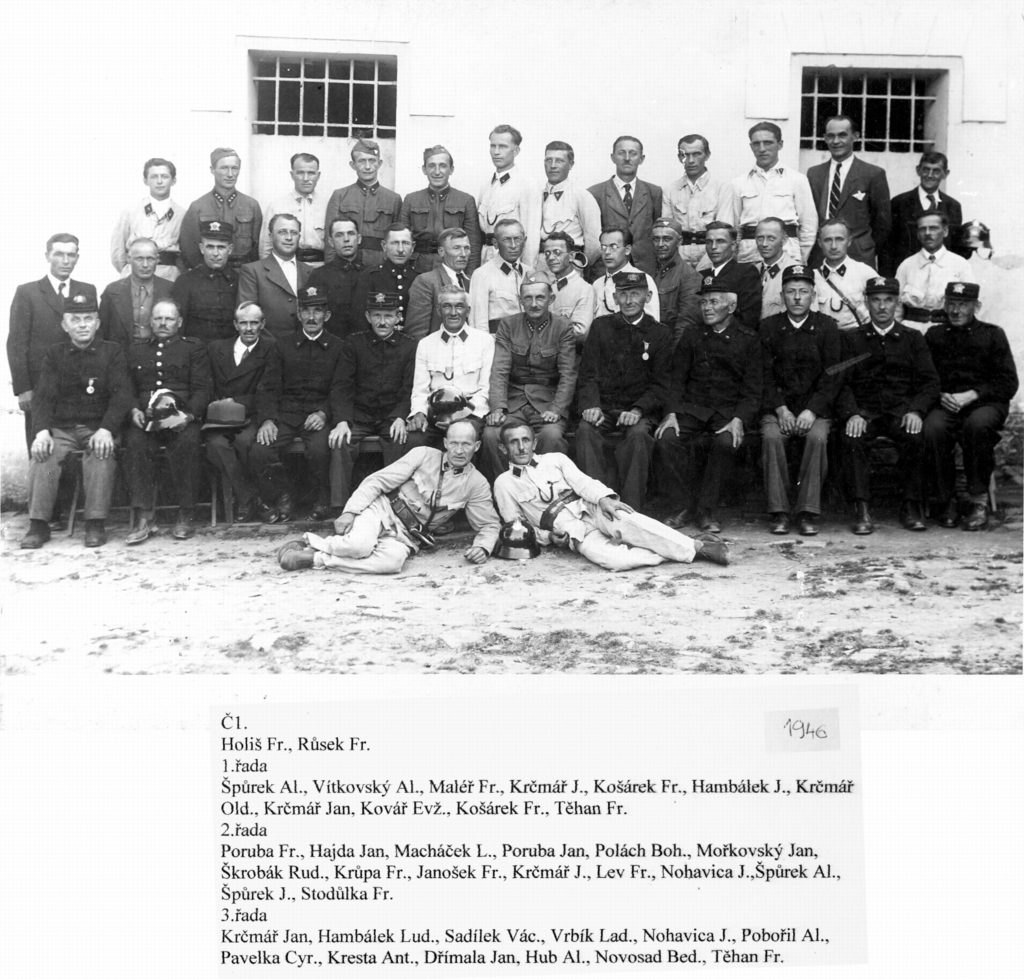 01 volné fotky Hasiči Pospěch sbor rok 1964