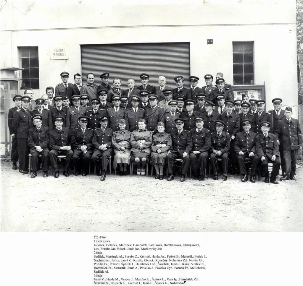 02 volné fotky Hasiči Pospěch sbor rok 1964