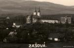 1928 pohled z pohore, kostel klaster.jpg